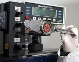 CDI torque calibration